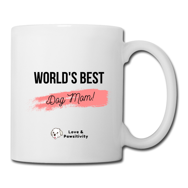 Best Dog Mom | White Mug - white