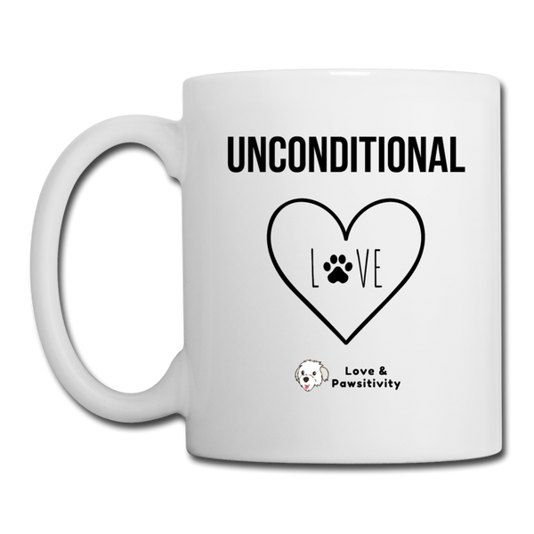 Unconditional Love | White Mug - white