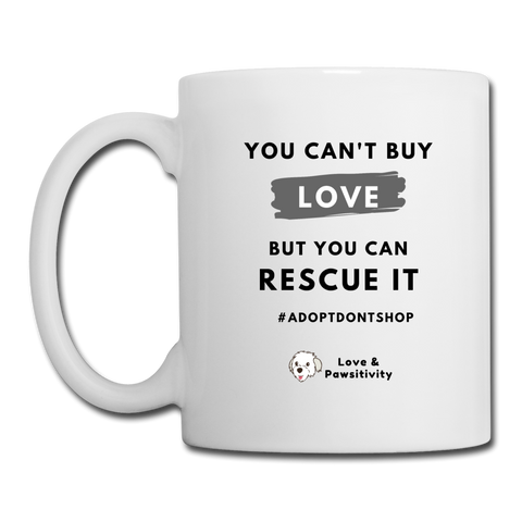 You Can't Buy Love | White Mug - white