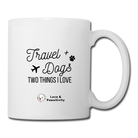 Travel & Cats | White Mug - white