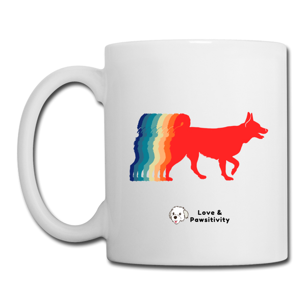 That 70's Dog | White Mug - white