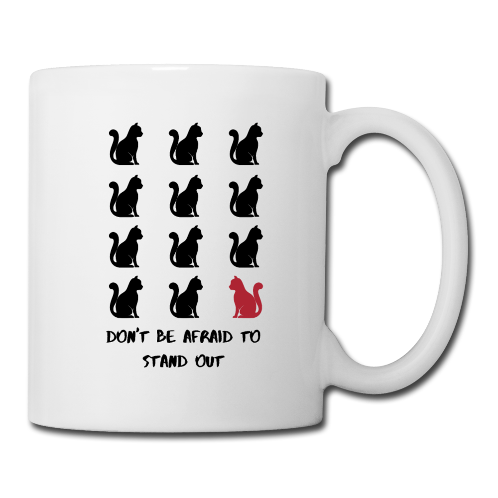 Stand Out - Cats | White Mug - white