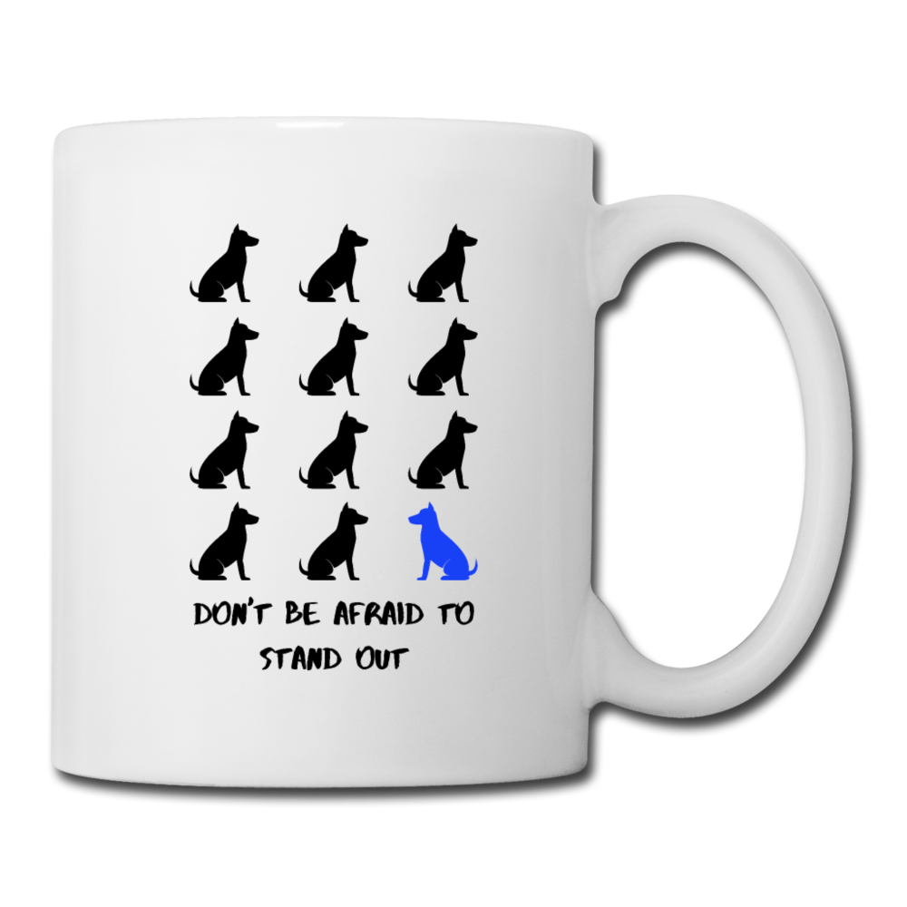 Stand Out - Dogs | White Mug - white