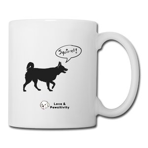 Squirrel! - Husky | White Mug - white
