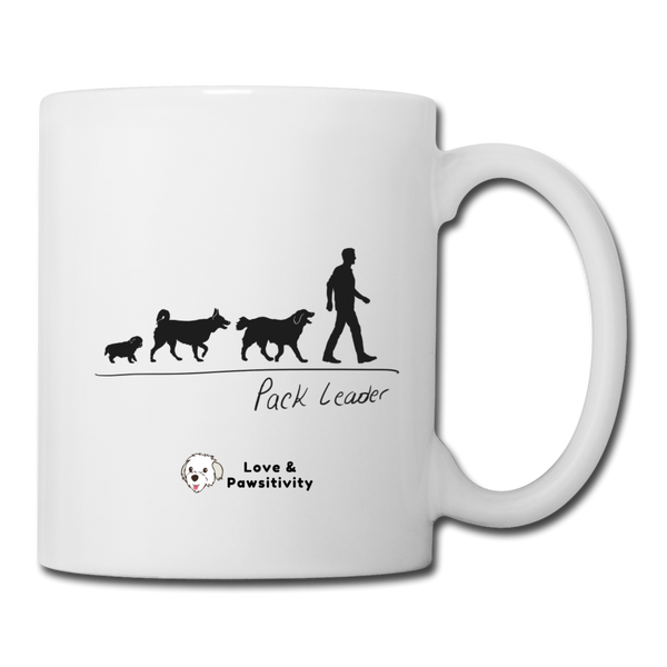 Pack Leader | White Mug | Man - white