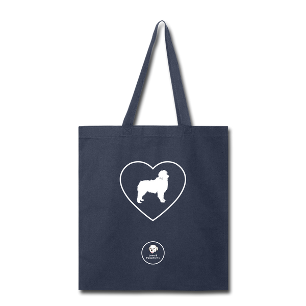 I Heart Australian Shepherds! | Tote Bag - navy