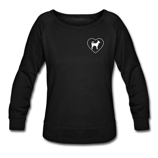 I Heart Chihuahuas! | Sweatshirt | Women - black