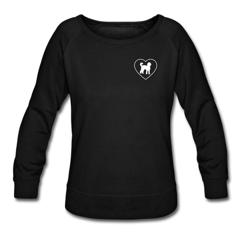 I Heart Goldendoodles! | Sweatshirt | Women - black