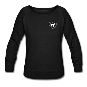 I Heart Doodle Mixes! | Sweatshirt | Women - black