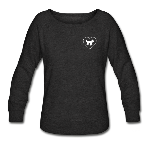 I Heart Doodle Mixes! | Sweatshirt | Women - heather black