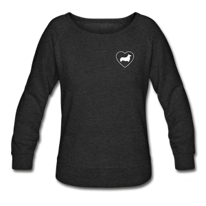 I Heart Corgis! | Sweatshirt | Women - heather black