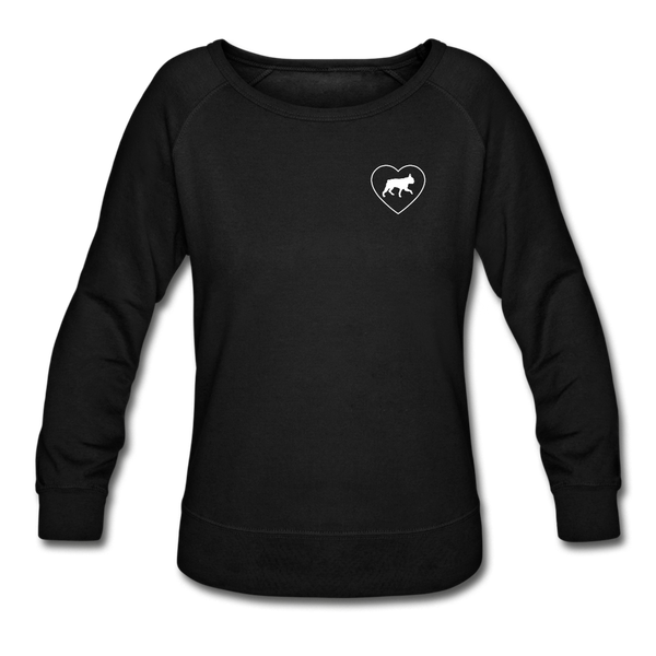 I Heart Boston Terriers! | Sweatshirt | Women - black