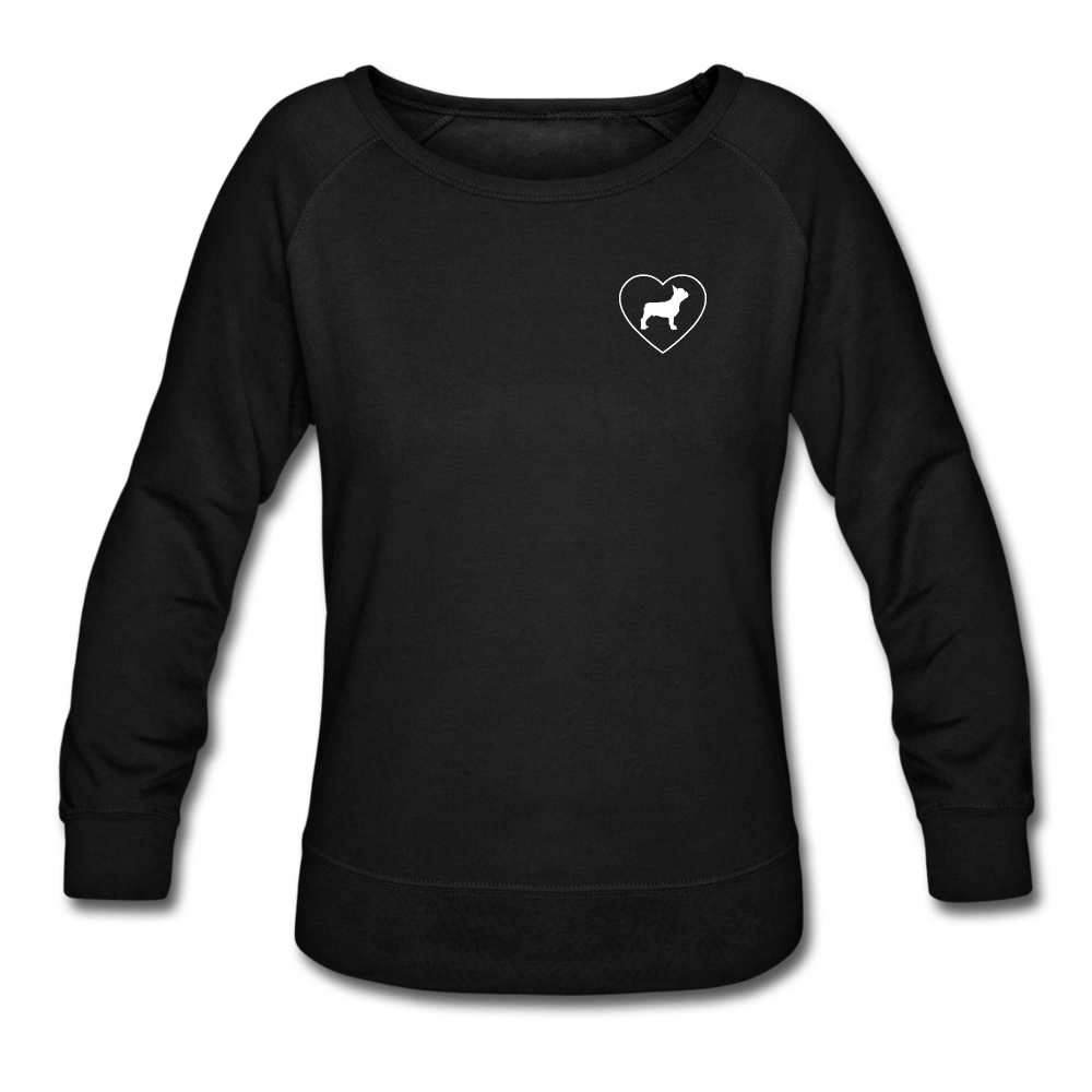 I Heart French Bulldogs! | Sweatshirt | Women - black