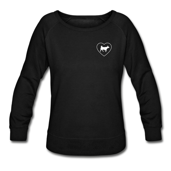 I Heart Huskies! | Sweatshirt | Women - black