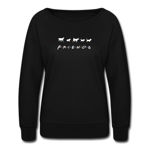 The One With Your Pup | Sweatshirt | Women - black