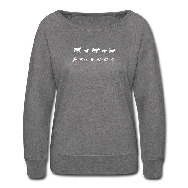 The One With Your Pup | Sweatshirt | Women - heather gray
