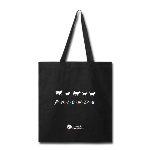 The One With Your Pup | Tote Bag - black