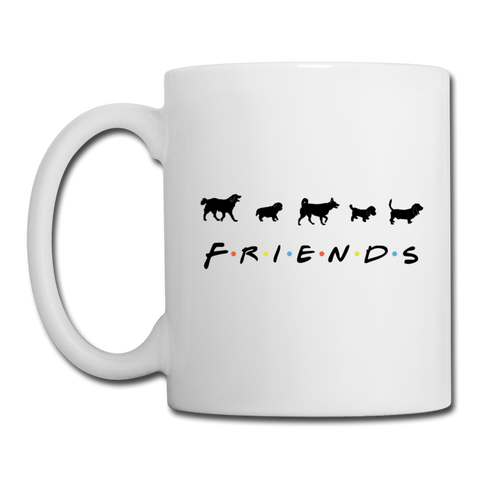 The One With Your Pup | White Mug - white