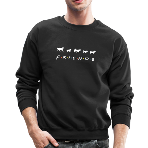 The One With Your Pup | Sweatshirt | Men - black