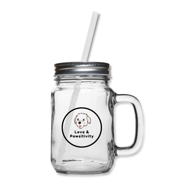 The One With Your Pup | Mason Jar Mug - clear