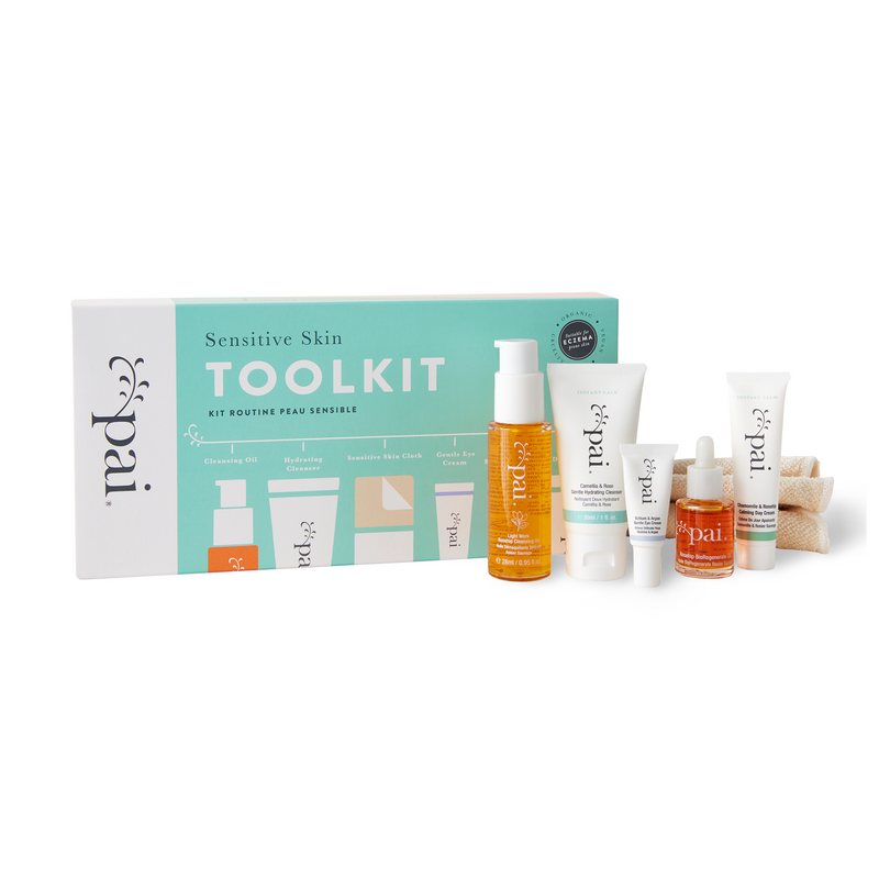 Kit descubrimiento Sensitive Skin Toolkit Pai Skincare