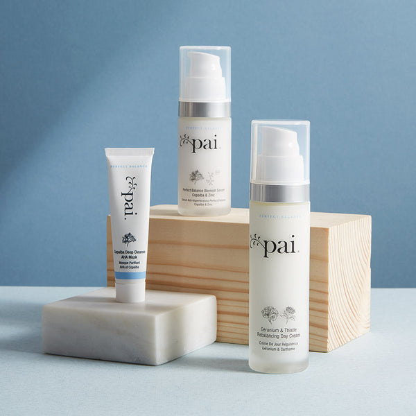 Kit facial regulador piel mixta-grasa Balancing Act