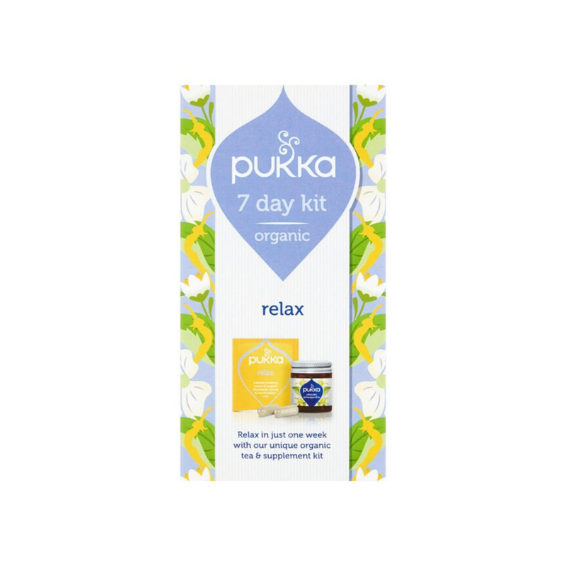 Relax Mini Kit infusión + cápsulas