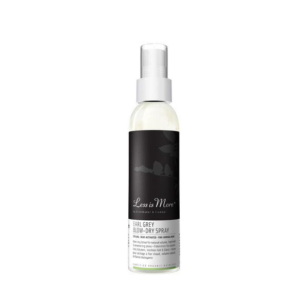 Earl Grey Blow-Dry Spray para cabello fino y normal
