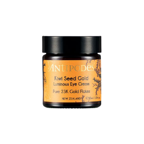 Contorno de ojos iluminador. Kiwi Seed Gold Luminous Eye Cream