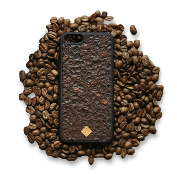 H-e-r-e-N-T-h-e-r-e - H-e-r-e-N-T-h-e-r-e, phone cover - cell phone covers, MMORE Organika Coffee Phone case - Phone Cover - Phone accessories - wodden case