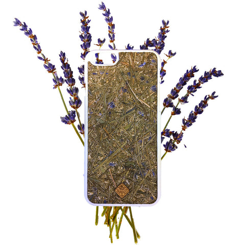 H-e-r-e-N-T-h-e-r-e - H-e-r-e-N-T-h-e-r-e, phone cover - cell phone covers, MMORE Organika Lavender - Phone Cover - wodden case