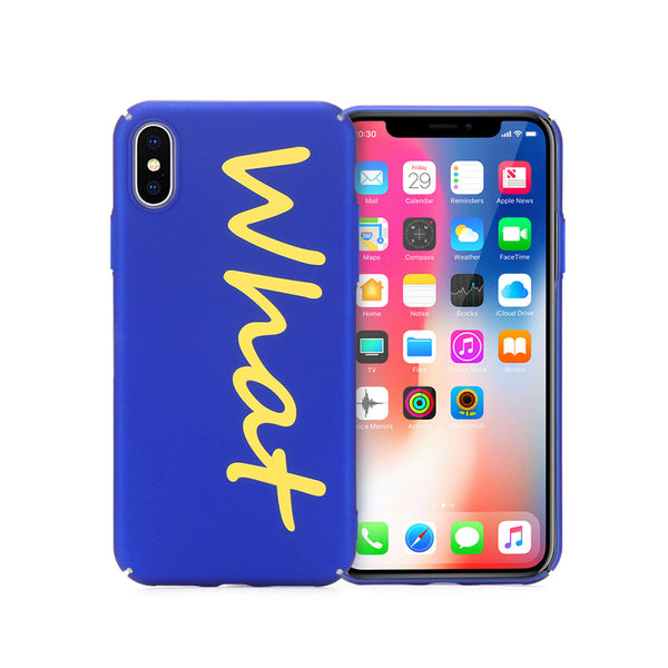 H-e-r-e-N-T-h-e-r-e - H-e-r-e-N-T-h-e-r-e, phone cover - cell phone covers, Hard Perfect Touch Back Cover for IPhone X - wodden case