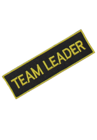 Embroidered Team Leader Badge