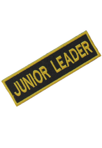 Embroidered Junior Leader Badge