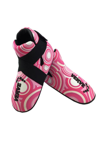 Pink Retro Boots