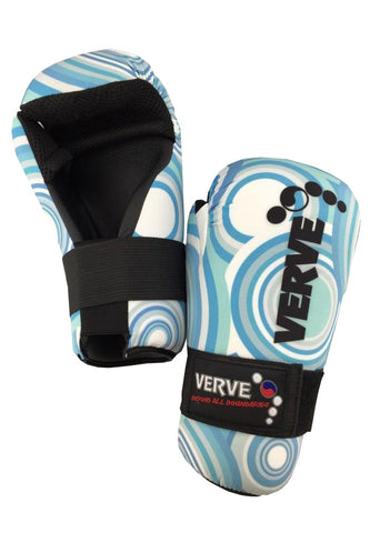 Blue Retro Gloves