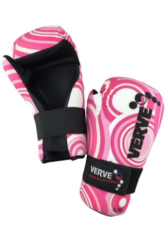 Pink Retro Gloves