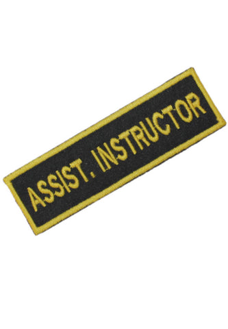 Embroidered Assistant Instructor Badge