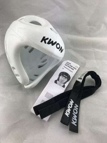 SMALL / MEDIUM white Kwon Shocklite Head Guard