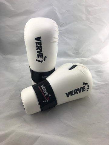 LARGE White Points Gloves