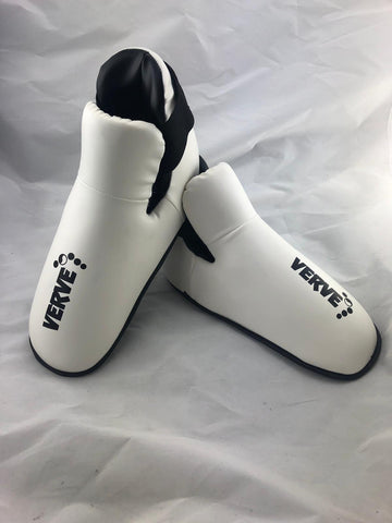LARGE White Kick Boots