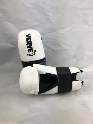 XS White Points Gloves