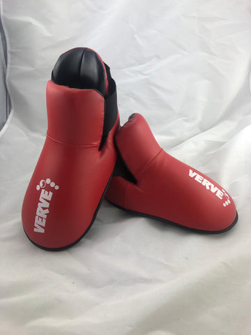 MEDIUM Red Kick Boots