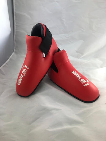 LARGE Red Kick Boots
