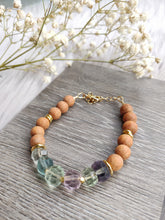 Load image into Gallery viewer, Fluorite Gemstone Bracelet