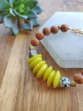 Load image into Gallery viewer, Yellow Ashanti Bracelet