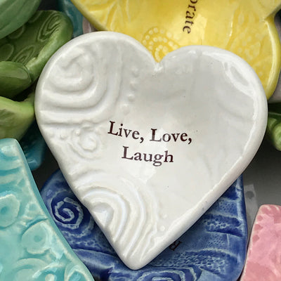 "Giving Heart ""Live, Love, Laugh"