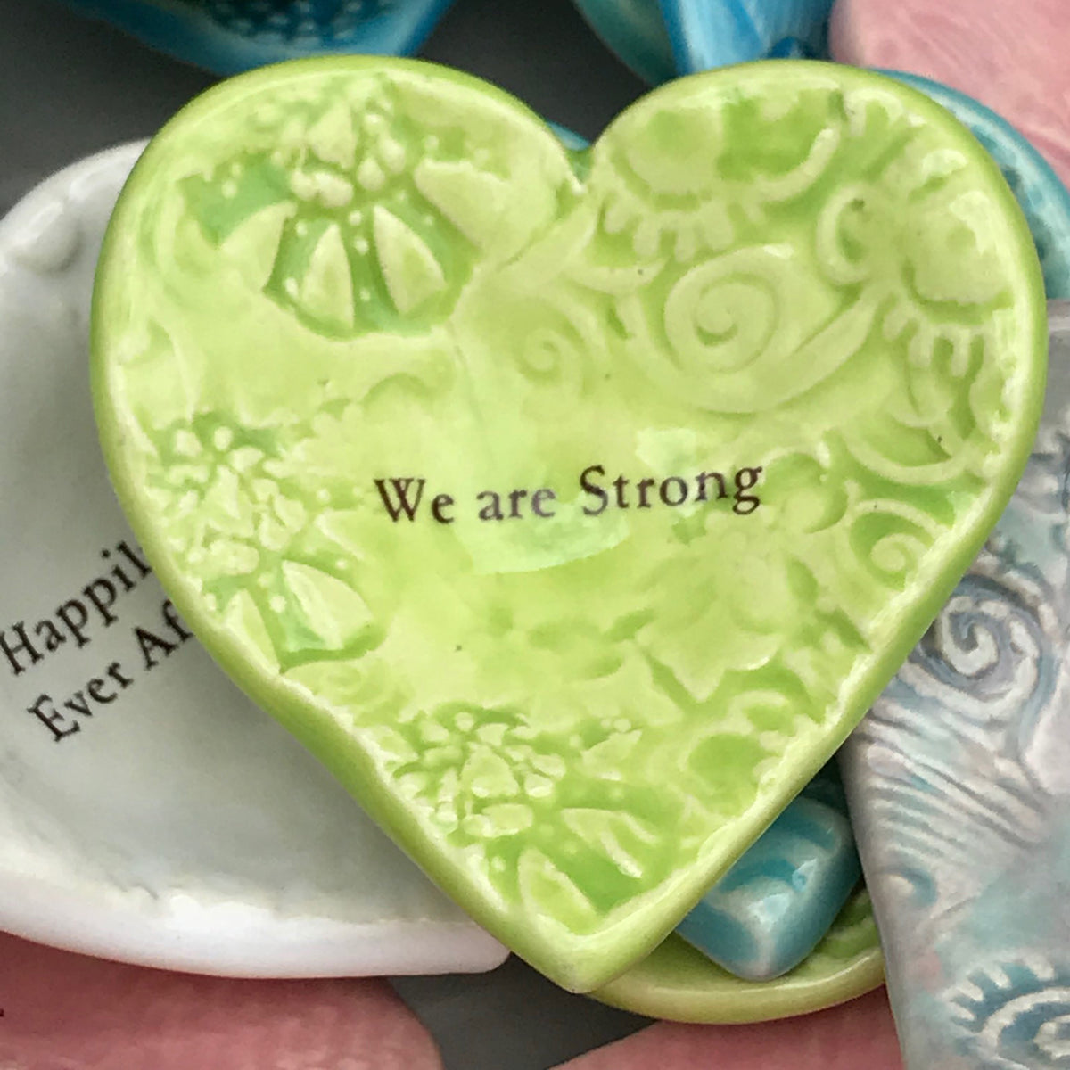 "Giving Heart ""We Are Strong"""