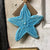 Ornament Starfish Marine Blue