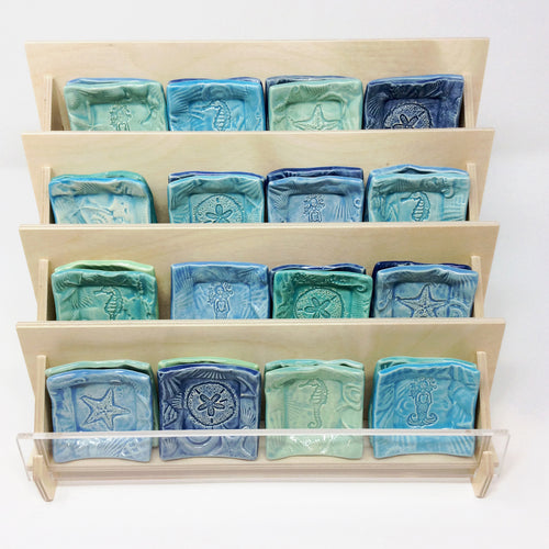 "Tiny Dishes Prepak ""Ocean"" 32 pieces w FREE Display"